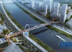 最新透露!武汉首座跨江慢行桥来了,只能走人和非机动车